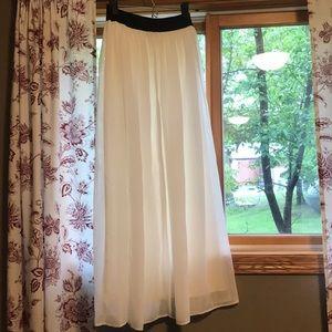ASOS White Maxi Skirt, 2